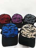 Трикотажная кепка тракерка хаки в разных цветах tez1207114