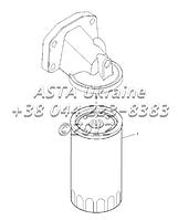 Пульт смазочного масла фильтра, двигатель 1104C-44T, RG38101 G1-10-1, фото 1