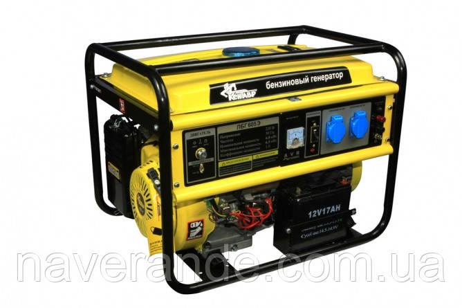 Генератор бензиновый «Кентавр» КБГ 605Э