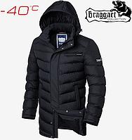 Куртка длинная зимняя Braggart Aggressive - 1956#1955 черный, фото 1