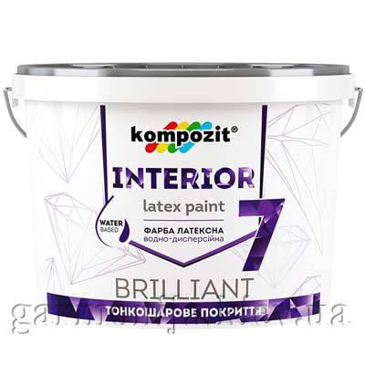 Краска интерьерная INTERIOR 7 Kompozit, 1.4 кг, фото 2