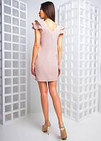 Платье с оборками и вырезом на спине, фото 1