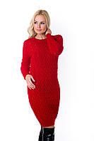 Платье Одри C красный , S