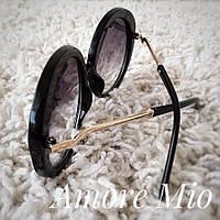Женские модные круглые солнцезащитные очки tez36162