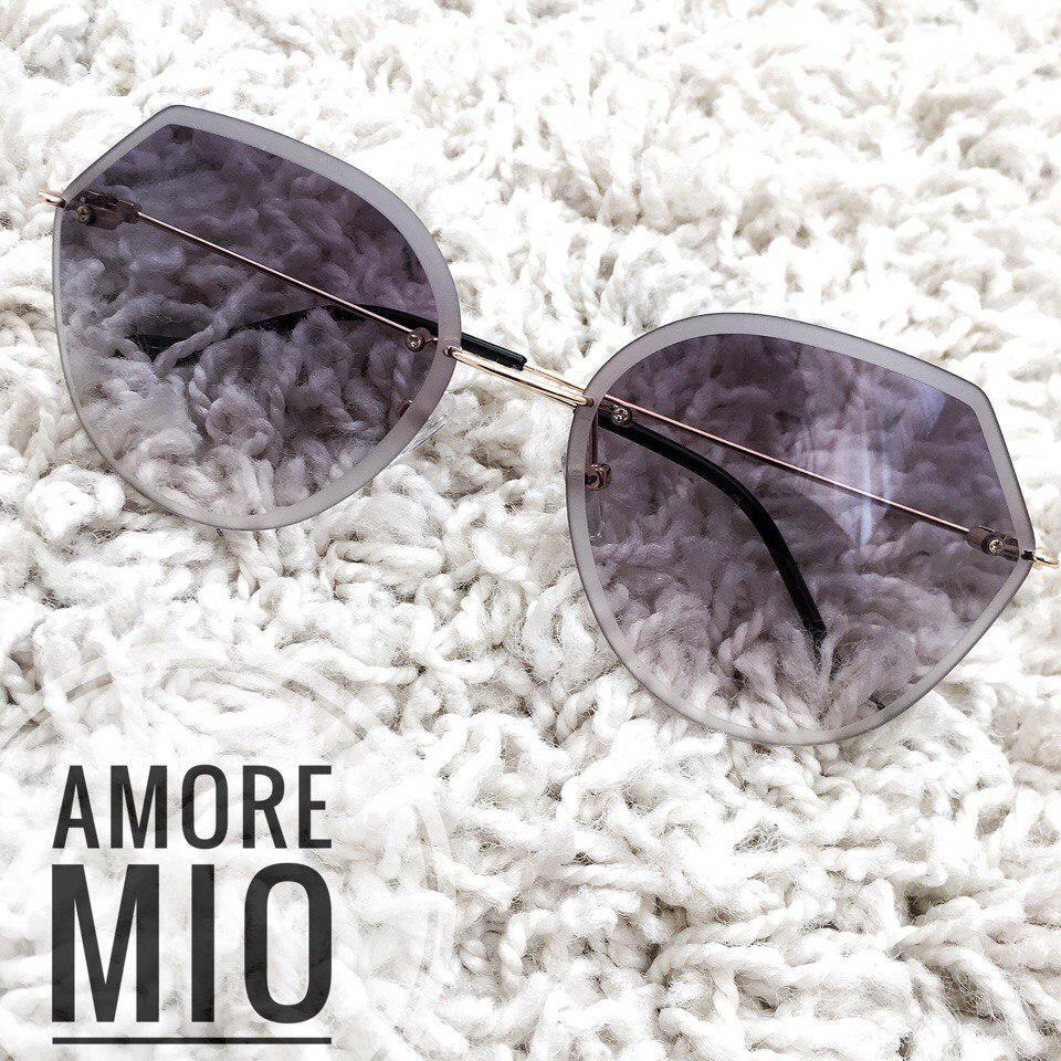 Женские модные солнцезащитные очки без оправы tez36165