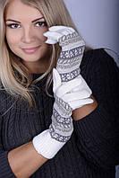 Перчатки Жаклин  молочный