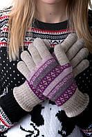 Перчатки Жаклин  бежевый