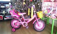 Двухколесный велосипед Герлз Кроссер девочке 14 дюймов