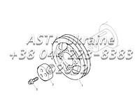 Запчасти привода двигателя 1104C-44T, RG38101 G1-11-1, фото 1