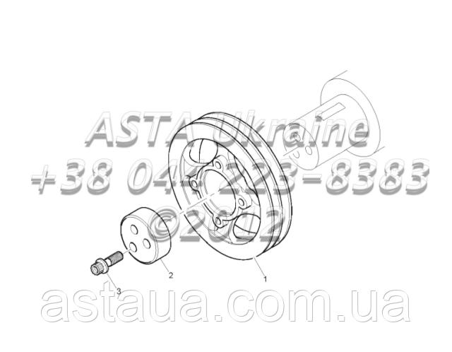 Запчасти привода двигателя 1104C-44T, RG38101 G1-11-1 - ООО «Аста Украина» в Киеве