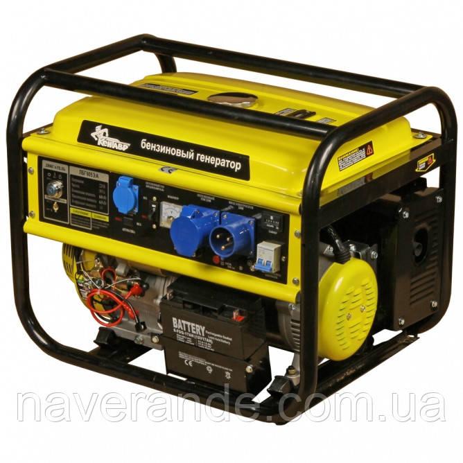 Генератор бензиновый «Кентавр» ЛБГ 605ЭА (автоматический запуск)