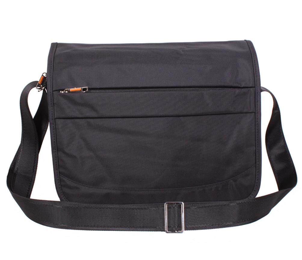 Стильная сумка из прочного текстиля Nobol XXL8311B-BLACK Черная