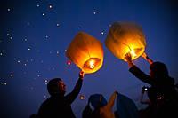 Летающие небесные фонарики (комплект 10шт, китайские фонарики)