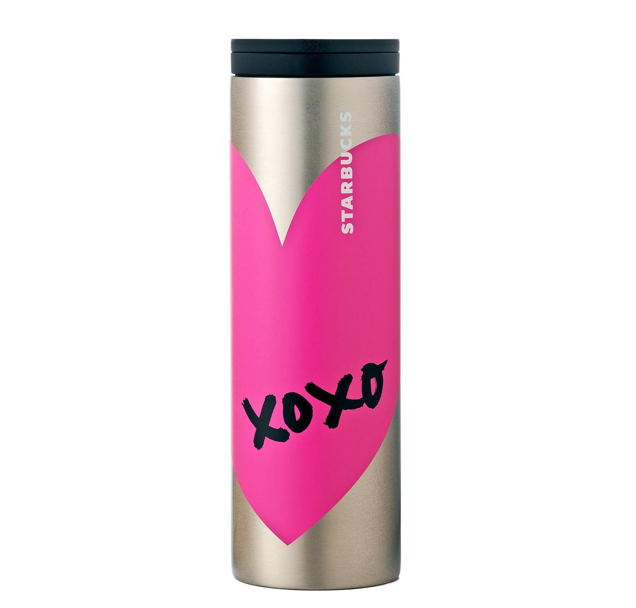 Термокружка Starbucks Heart Pink 473 мл