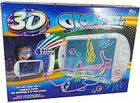 Світна 3D дошка для малювання Glow Drawing Board YM162, фото 1