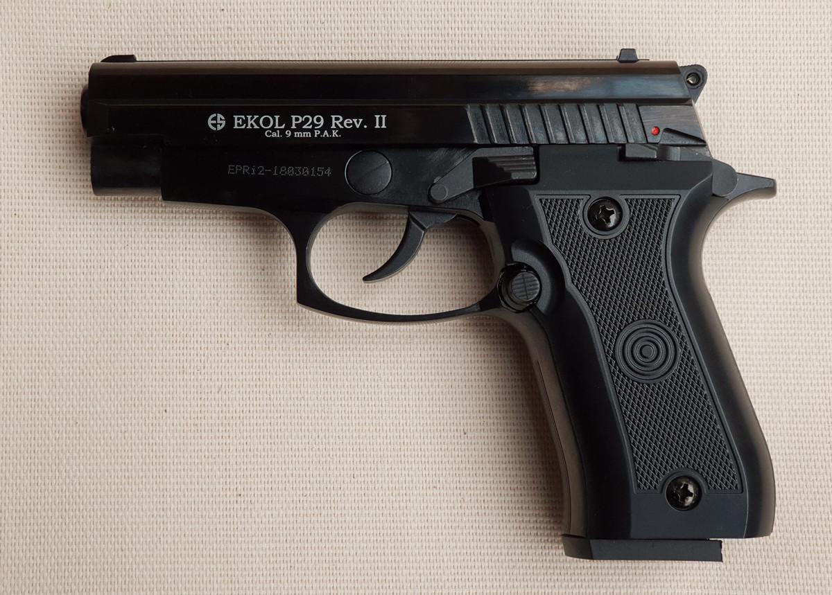Пистолет сигнальный Ekol Voltran P-29 Rev-2 (black)