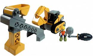 Игровой набор-конструктор Toy State Machine Maker Экскаватор и Подъемник-конвейер