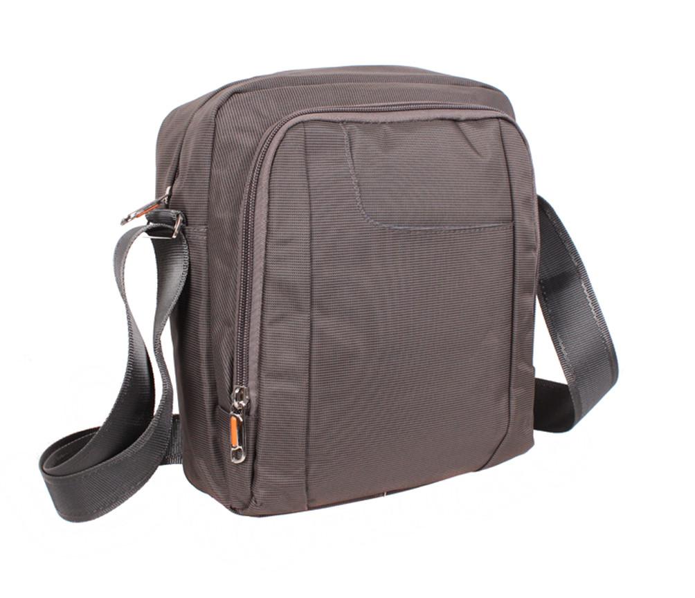 Мужская текстильная сумка XL242-3 серая