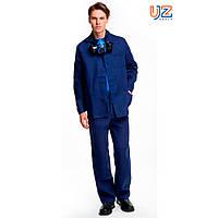 Костюм рабочий мужской от общих производственных загрязнений (куртка, брюки), 100% хлопок, диагональ, фото 1