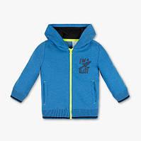 Синяя кофта с капюшоном для мальчика 4-5 и 5-6 лет C&A Германия Размер 110, 116