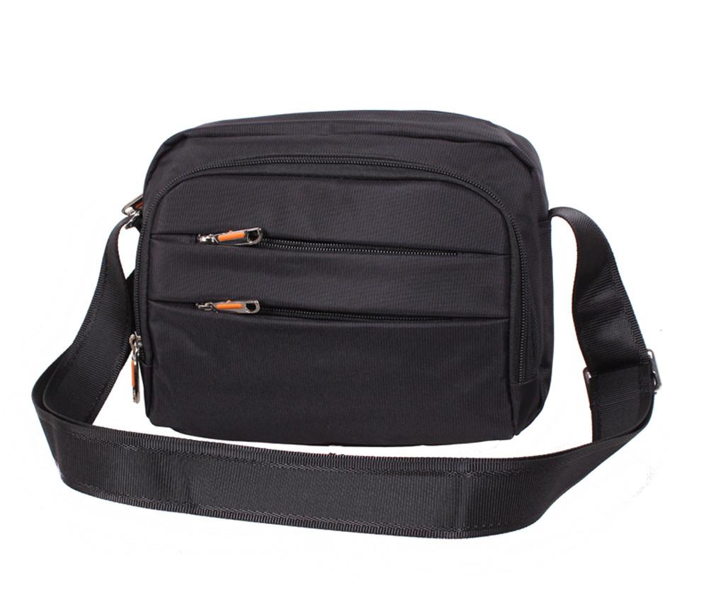 Мужская текстильная сумка M6338-22 черная