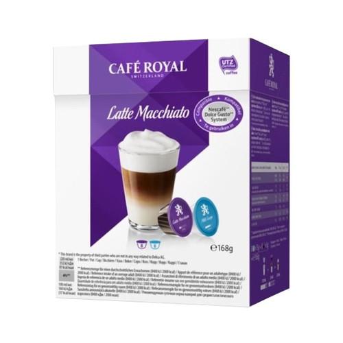 Кофе в капсулах Cafe Royal Dolce Gusto Latte Macchiato 16 шт