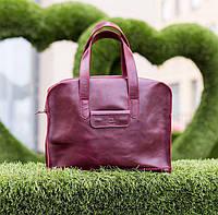 Жіноча шкіряна сумка ручної роботи Париж, Sharky Friends, фото 1