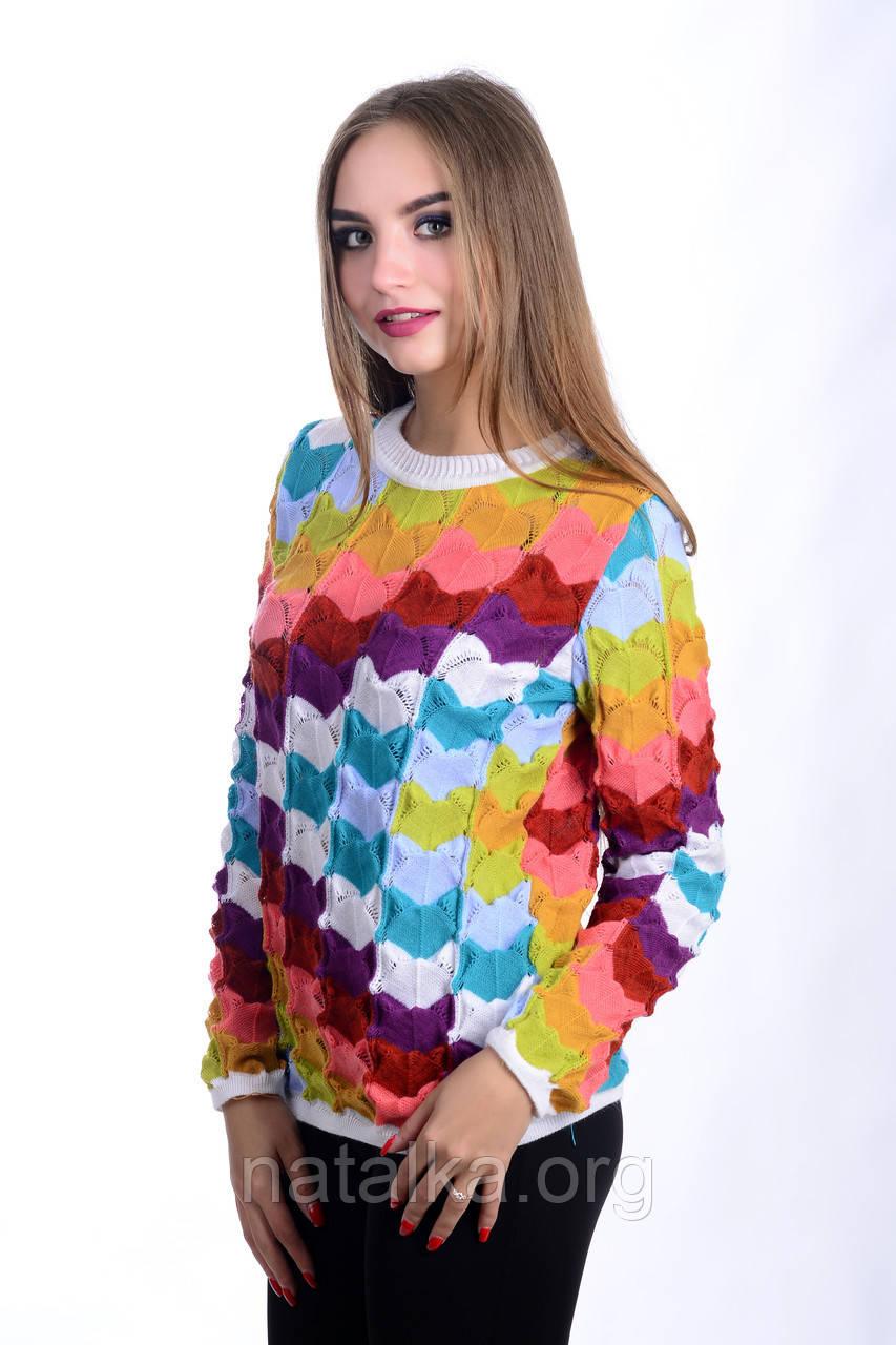Джемпер Цветной Доставка