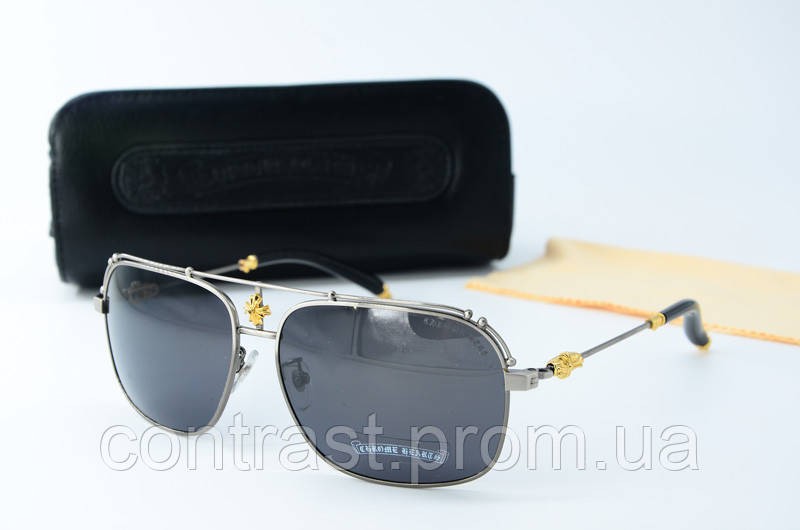 Солнцезащитные очки chrome Hearts Kuffanaw1 сталь
