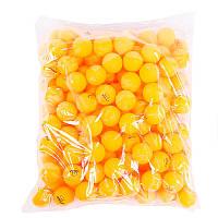 Пластиковые мячи для настольного тенниса 3 звезды оранжевые Stiga и белые Wilson