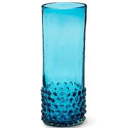 Стакан Starbucks Hobnail Recycled Glass Blue 355 мл