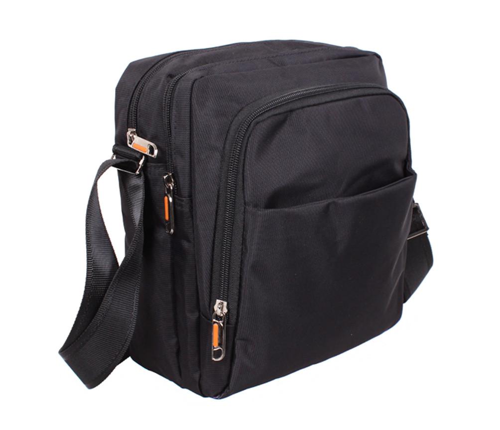 bb809ee2467f Вместительная сумка из ткани мужская Nobol XL7337BLACK Черная - Интернет  магазин