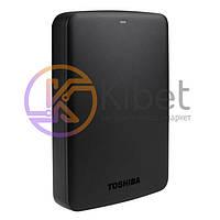 Внешний жесткий диск 3Tb Toshiba Canvio Basics, Black, 2.5', USB 3.0 (HDTB330EK3CA)