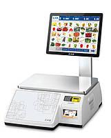 Весы для печати на этикетке CAS CL-7200S-2 (самообслуживания)
