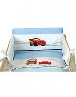"""Постельное бельё для детских кроваток """"Тачки"""""""