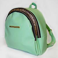 Рюкзак городской Джонс корс, (3 цв), кожаный рюкзак, рюкзак кожзам, рюкзак женский, рюкзаки оптом, дропшиппинг