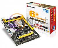 Мат.плата с процессором Biostar J1800MH2, Celeron J1800 (2x2.4GHz), 2xDDR3, Intel HD Graphics, 2xSATA2, 1xPCI-E 1x 2.0, 2xPCI-E 1x 2.0, ALC662,