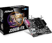 Мат.плата с процессором AsRock J3060B-ITX, Intel Celeron J3060 (2x2.48 GHz), 2xDDR3 SO-DIMM, Intel HD 400, 2xSATA3, 1xPCI-E 1x, ALC887, RTL8111GR,