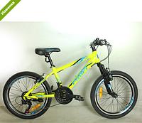 Детский сортивный велосипед 20 дюймов PROFI G20PLAIN A20.1, фото 1