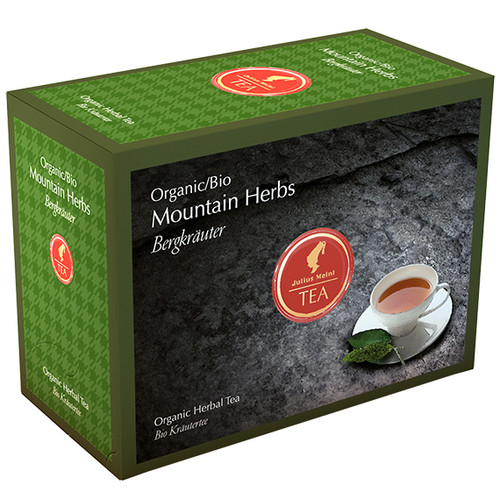 Органический травяной чай Julius Meinl Bio Горные травы 20х2 г