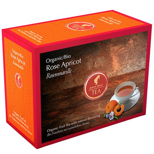 Органический фруктовый чай Julius Meinl Bio Розовый Абрикос 20х3;5 г
