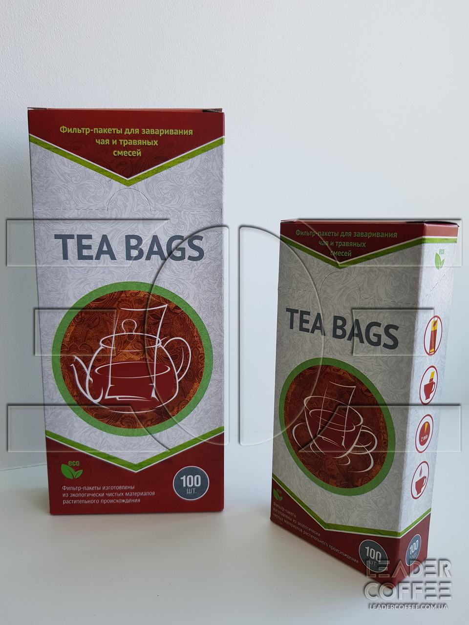Фильтр-пакеты для чая на чайник 1уп (100шт)