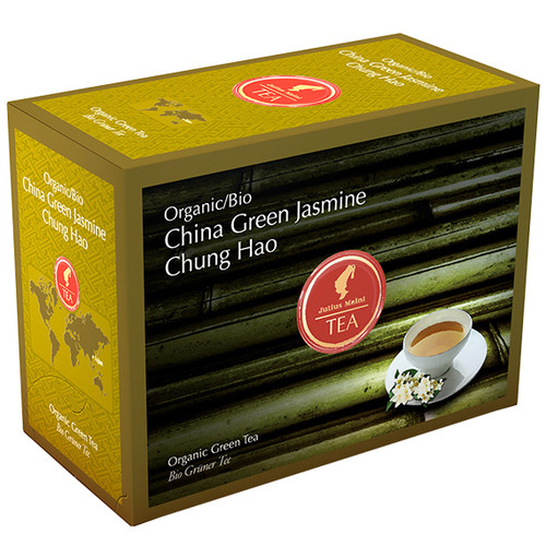 Органический зеленый чай Julius Meinl Bio Жасмин Чунг Хао 20х3,25 г