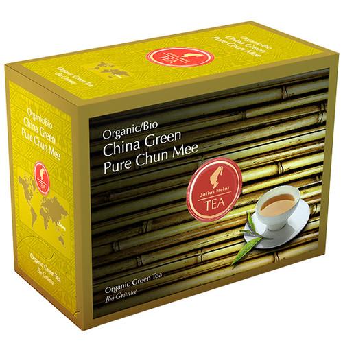 Органический зеленый чай Julius Meinl Bio Зеленый Китайский Чун Ми 20х3,25 г