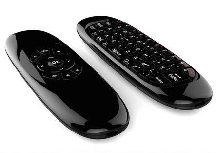 Аэро Пульт Air Mouse с клавиатурой пульт для смарт приставок, фото 2