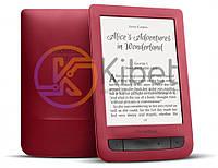 Электронная книга 6' PocketBOOK 626 Touch Lux 3 Red (PB626(2)-R-CIS) 1024?758, 4Gb, Wi-Fi, PDF, подсветка