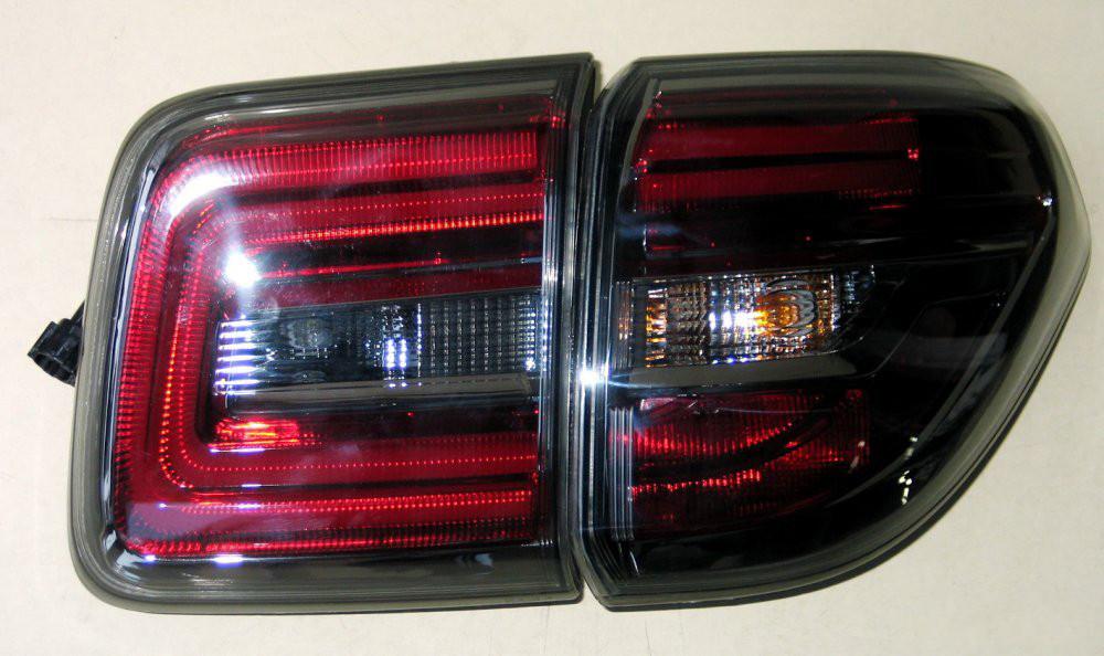 Задние Nissan Patrol Y62 альтернативная тюнинг оптика фары тюнинг-оптика задние на NISSAN Ниссан Patrol Y62