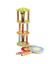 """Деревянная игрушка головоломка балансир из бамбука """"Crazy Tower"""""""