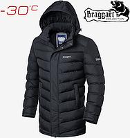 Зимние куртки длинные Braggart Aggressive - 2678#2677 графит, фото 1