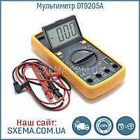 Цифровой мультиметр DT-9205A с автовыключением, амперметр, вольтметр, прозвонка
